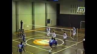 Voleibol: Banespa x Pirelli juvenil masculino - 1986
