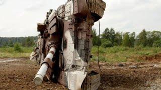Улетный танковый дрифт  Танковый биатлон