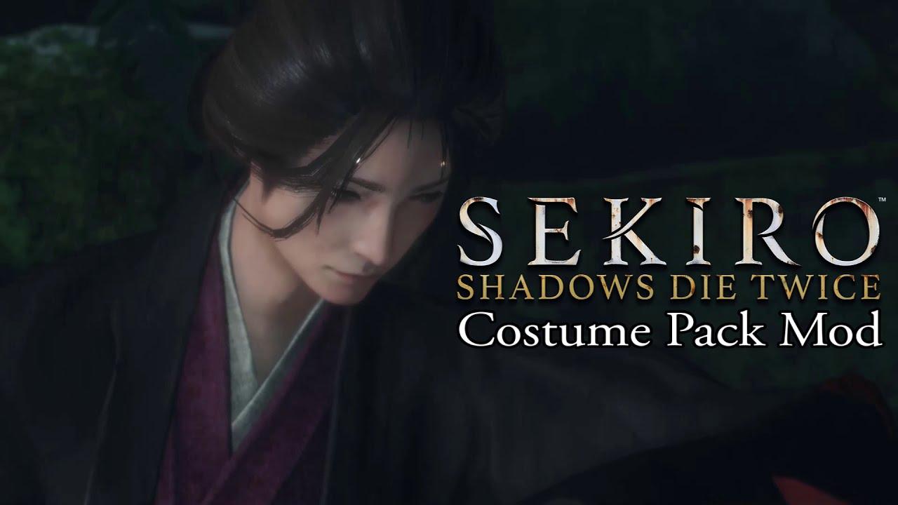 Sekiro costume pack mod lets you dress up as Emma, Genichiro