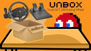 Hardware Unboxing: Trust GXT 288 PC Racing Wheel