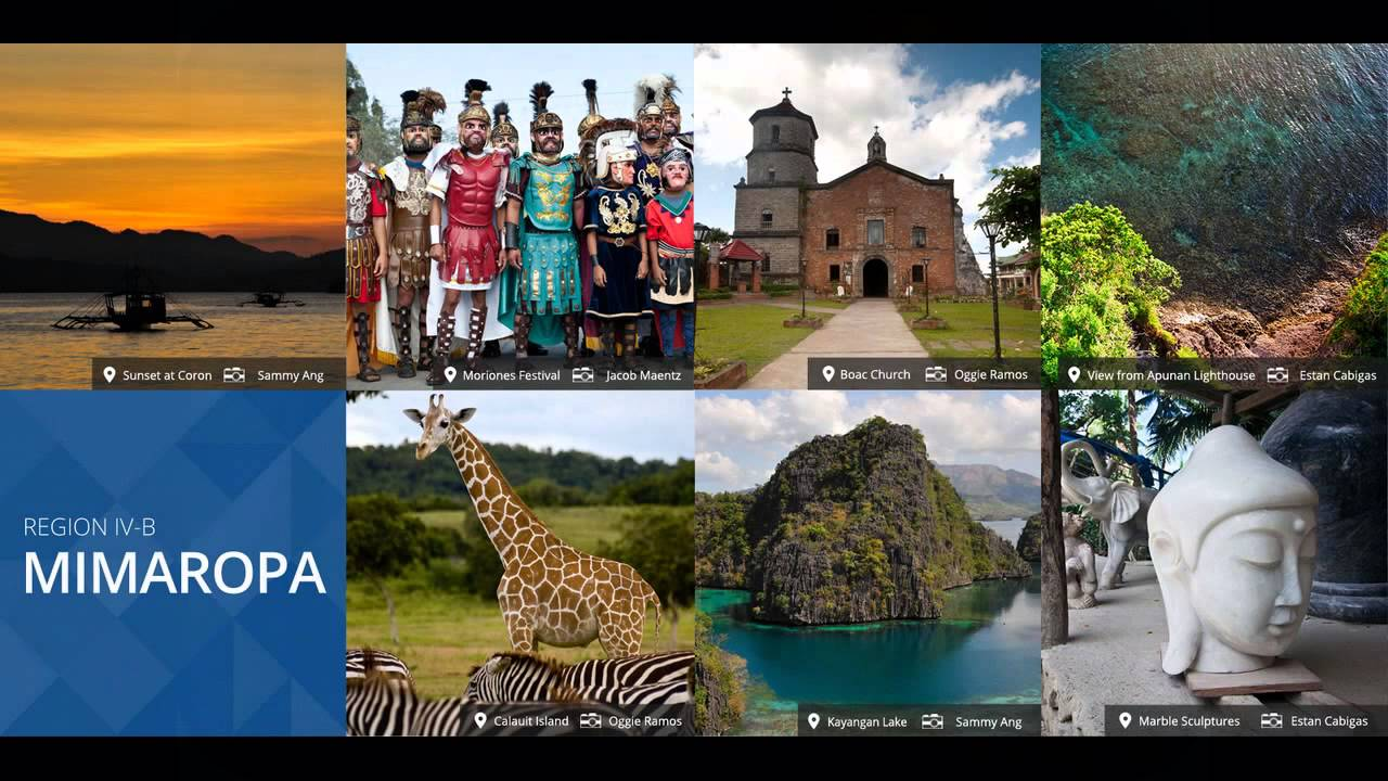 The Philippines And It 39 S Tourist Spots Youtube