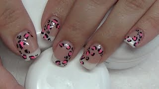 Classic French Gel Nail Tutorial *Using DivaDC Gels*