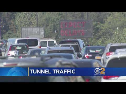 Drivers Face Long Commute After Fire Damages Ramp Near Holland Tunnel
