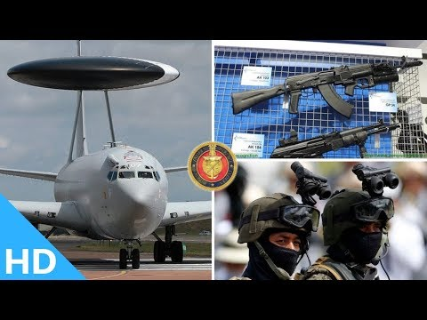 Indian Defence Updates : AI Night Vision Helmet For Army,New AWACS Ready,AK-103 Deal,Modified Su-30