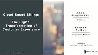 Webinar: Cloud-Based Billing: The Digital Transformation of Customer Experience