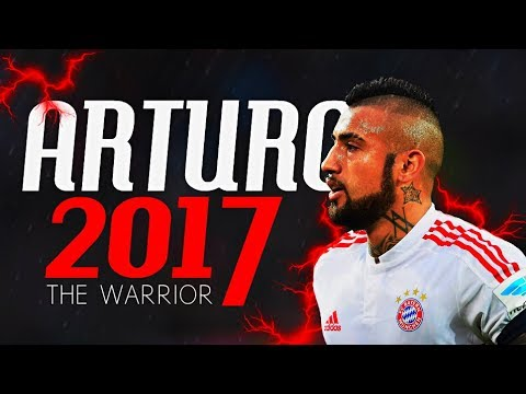 Arturo Vidal 2017 || The Chilean Monster || Tackles, Skills & Goals || Chile & Bayern || HD
