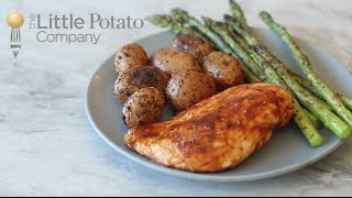 30 Minute Meal: Grilled Potatoes, Chicken and Asparagus