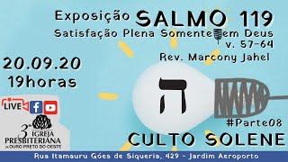 Satisfação Plena Somente em Deus - Rev. Marcony Jahel