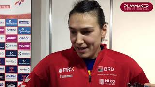 Cristina Neagu's reaction after ROU - MNE | 24th IHF Women's World Championship, Kumamoto 2019