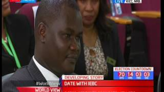 Justus Juma's application for presidential candidature rejected by IEBC