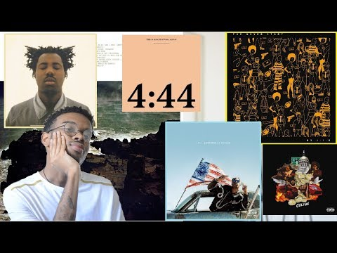 BEST ALBUMS OF 2017 : MidYear