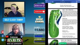 Golf Clash tips, Textguides -  Final prep for the tournament with RJ TV!