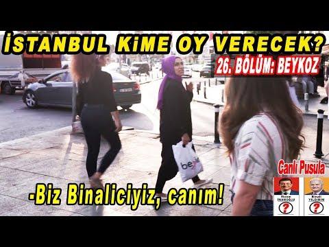 Beykoz Binali Yıldırım Mı, Ekrem İmamoğlu Mu Diyecek? İstanbul Seçim Anketi 26.