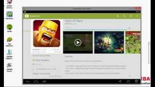 bluestacks ile clash of clans oyna