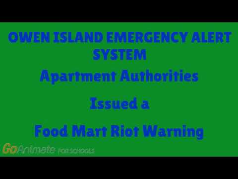 EAS In Owen's TL: Food Mart Riot Warning