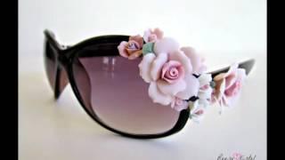 Как украсить очки от солнца красивым декором