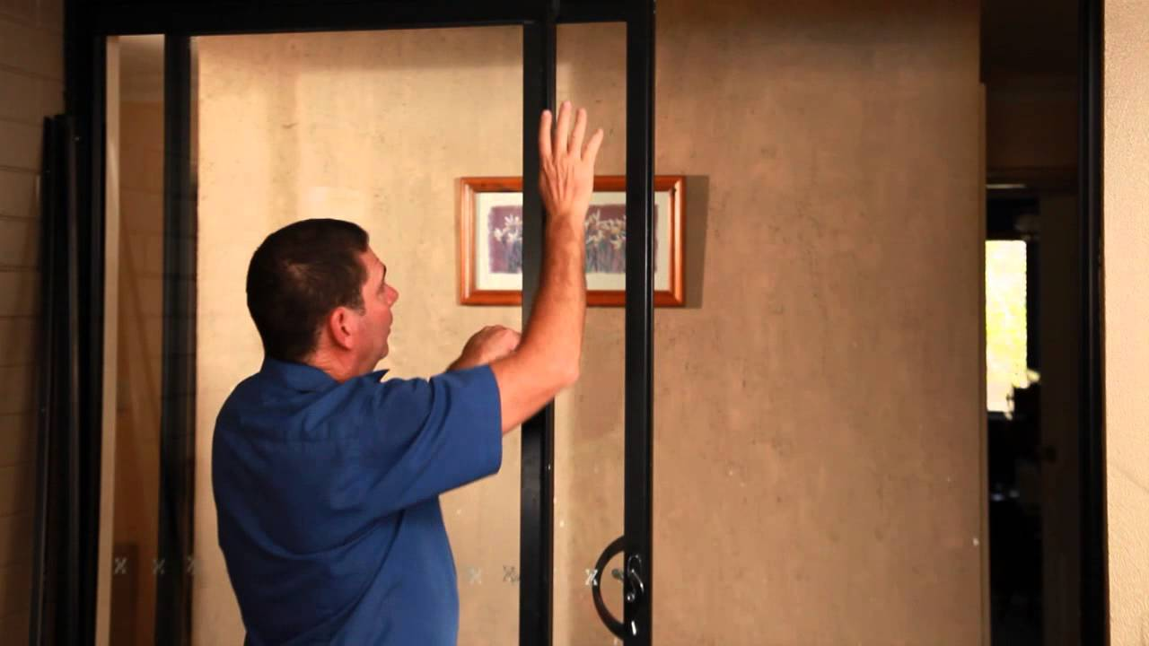 & Sliding Security Door: How to install - YouTube