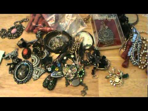 #2 of My Antique Store Vintage Jewelry Haul for my Ebay!