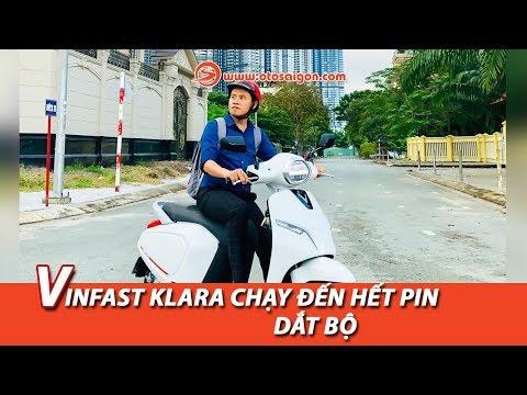 VinFast Klara chạy bao xa thì hết pin, dắt bộ?