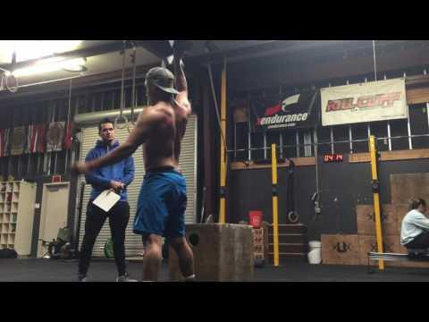 Anthony Gonzalez- Crossfit Opens 17.1