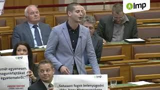 Kövér László kivetkőzött magából Orbán korábbi kijelentései miatt (LMP)