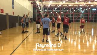 Temple University Intramural Basketball Video CIS Section 6
