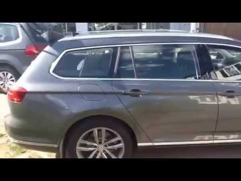 Vw Lookers >> 2015 Passat Estate GT 240 Indium Grey - YouTube