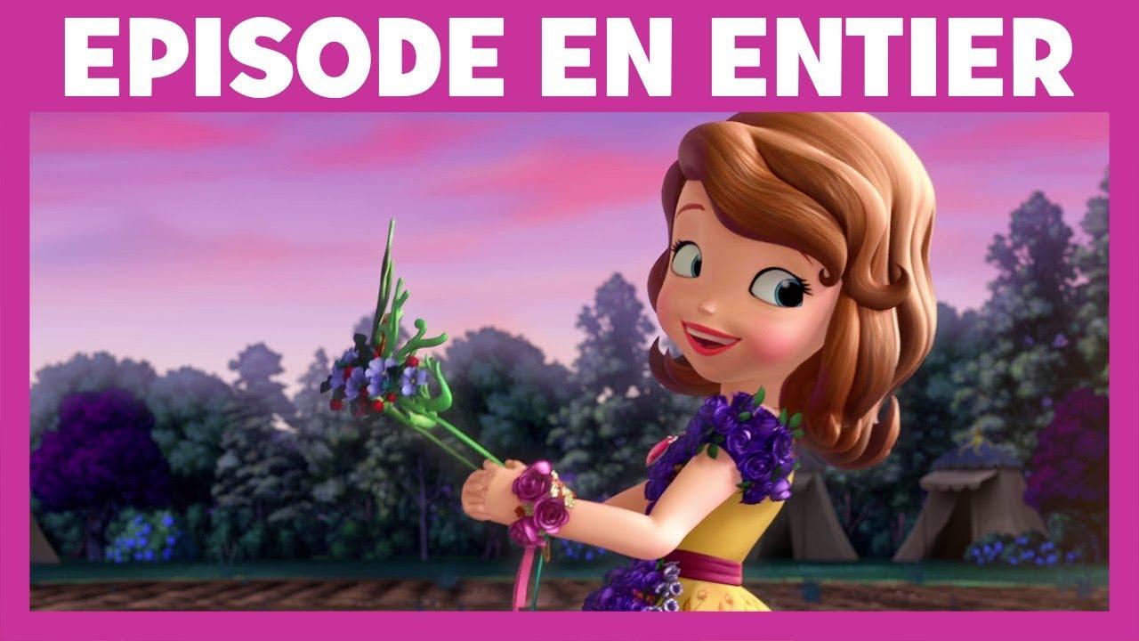 Princesse Sofia Moment Magique La Couronne De Fleurs Youtube