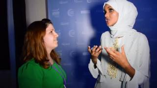 Chat with Halima Aden, First International Hijabi Model, At London Modest Fashion Week