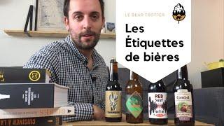 Les étiquettes des bières - La réglementation en 5min