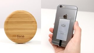 Wireless-Charger aus Bambus & iPhone kabellos aufladen: Woodpuck & iQi Review | SwagTab