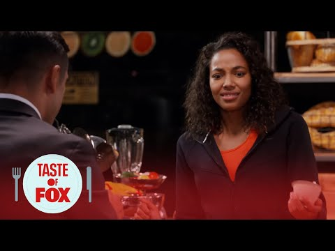 Kylie Bunbury & Mark Consuelos: Your Character As A Meal  TASTE OF FOX