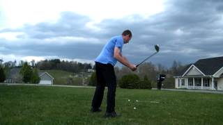 My swing theory high & low trajectory golf shots left & right handed