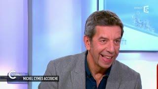 Michel Cymes commente un test de grossesse un peu étrange - C à vous - 23/03/2015