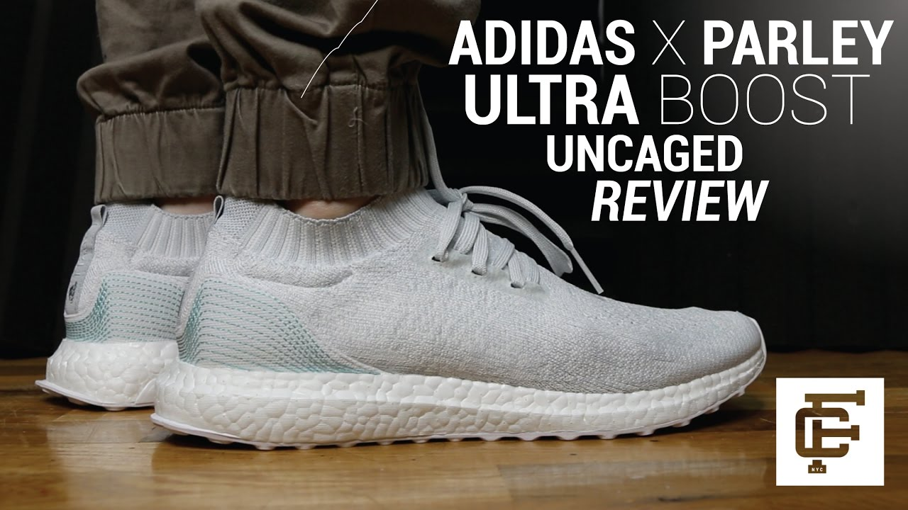 37c73576eea22 ADIDAS X PARLEY ULTRA BOOST UNCAGED REVIEW - YouTube