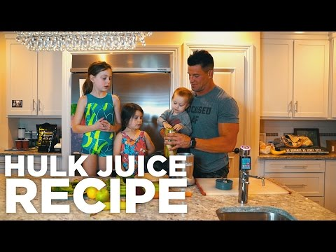 HULK JUICE RECIPE- all natural pre-workout