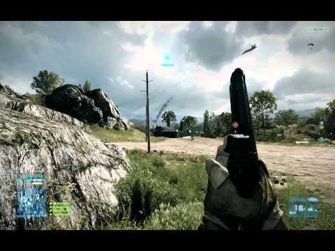 Battlefield 3 Beta - PC Gameplay Ultra Settings (Caspian)