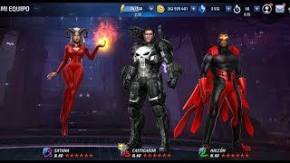 Uniformes SATANA PUNISHER & FALCON Actualización Enero 2018 Marvel Future Fight