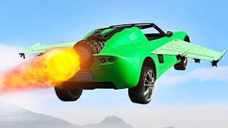 NEW FLYING JET-CAR! (GTA 5 DLC Import/Export)