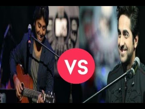 "Who Is The Better Singer Of ""Pani Da Rang "" Song Arijit Singh Or  Ayushmann Khurrana ??"
