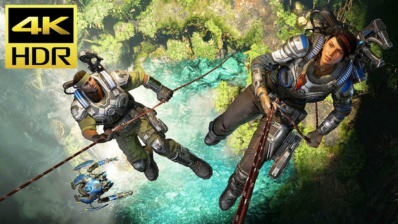 GEARS 5 - 4K HDR Gameplay (Xbox One X) @ 60ᶠᵖˢ ᵁᴴᴰ ✔