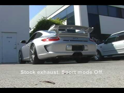 SharkWerks 2010 Porsche 997 GT3 with SharkWerks Exhaust System