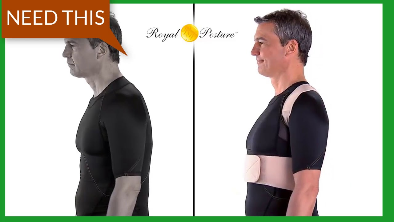Unisex Adjustable Magnetic Therapy Posture Corrector Brace Shoulder Back Support
