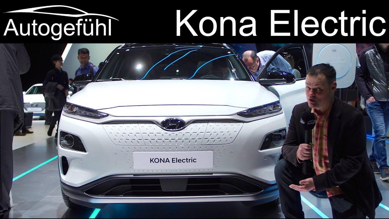 Hyundai Kona Electric REVIEW (Kauai) - Autogefühl - YouTube