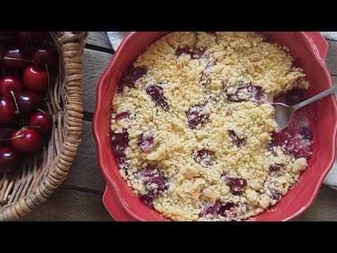 recette-de-crumble-cerises-:-dessert-facile