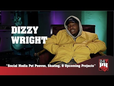Dizzy Wright - Social Media Pet Peeves, Skating, & Upcoming Projects (247HH Exclusive)