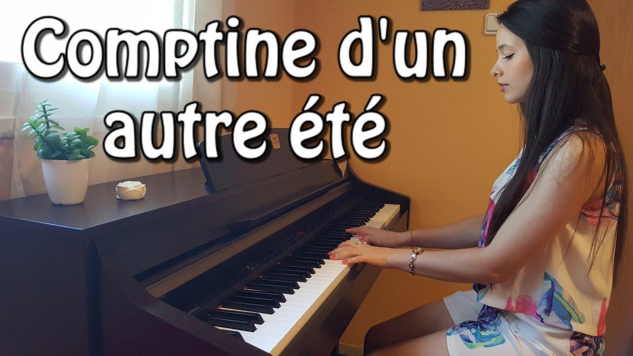 Yann Tiersen Comptine Dun Autre été Large Version Piano Cover