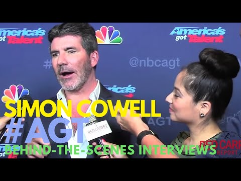 Simon Cowell interviewed behind-the-scenes at AMERICA'S GOT TALENT Season 11 #AGT