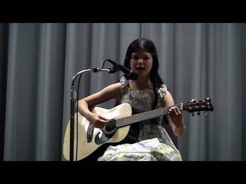 Cynthia Galant performs Love Story Taylor Swift cover