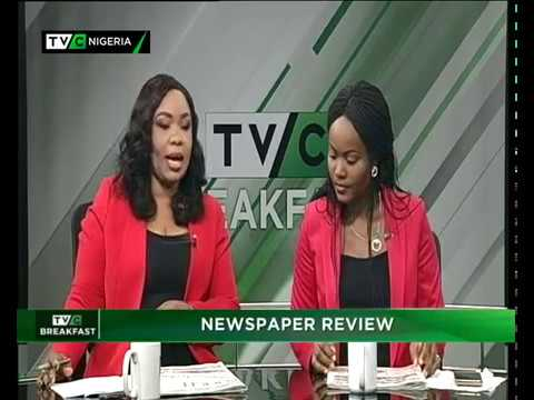 TVCBreakfast| 16th Jan. 2018| News Paper Review